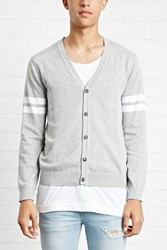 Forever 21 Ribbed Yoke Cardigan