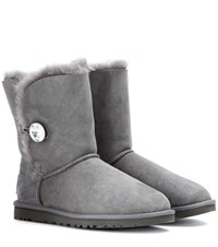 Ugg Bailey Button Bling Boots Grey