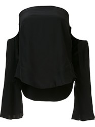 Piamita Off Shoulder Blouse Black