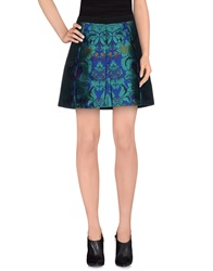 Pf Paola Frani Mini Skirts Blue