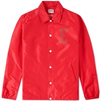 Edwin Coach Jacket Red