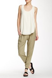 Shades Of Grey Pleated Jogger Green