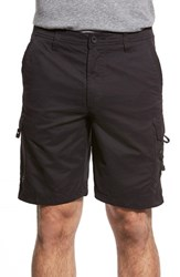 Quiksilver Men's Waterman Collection 'Maldive 9 Inch' Cargo Shorts Black