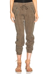 Pam And Gela Track Pant In Green