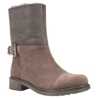 Geox New Virna Ankle Boots Chestnut