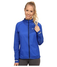 Nike Impossibly Light Jacket Game Royal Obsidian Reflective Silver Women's Coat Blue