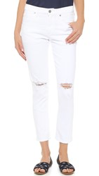 Citizens Of Humanity The Principle Girlfriend Jeans Wrecked White