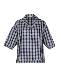 Agnona Shirts Blue