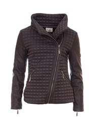 Relish Quilted Jacket Black