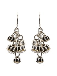 White Stuff Cluster Jewel Drop Earrings