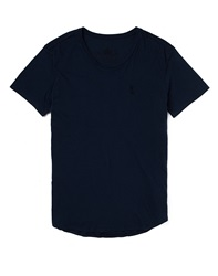 Religion T Shirt With Scoop Neck Navy