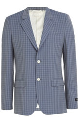 Marc Jacobs Checked Wool Blazer