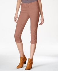 American Rag Cropped Cuffed Colored Skinny Jeans Only At Macy's