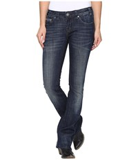Rock And Roll Cowgirl Rival Bootcut In Dark Wash W6 8466 Dark Wash Women's Jeans Navy