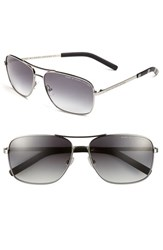 Men's Marc By Marc Jacobs 59Mm Aviator Sunglasses Ruthenium