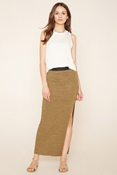 Forever 21 Contemporay High Slit Skirt