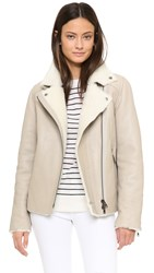 Just Female Move Shearling Jacket Creme