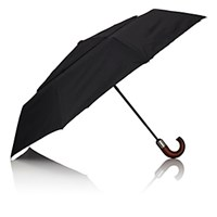 Barneys New York Men's Stick Umbrella Black No Color Black No Color