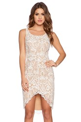 Ladakh Porcelain Lace Dress Tan