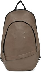 Maison Martin Margiela Brown Leather Backpack