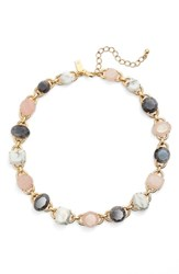 Kate Spade Women's New York 'Symphony' Jewel Collar Necklace Blush Multi