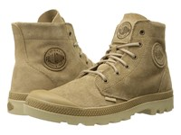 Palladium Pampa Hi Suede Ul Incense Putty Men's Lace Up Boots Brown