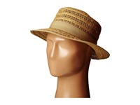 San Diego Hat Company Ubs1511 Opem Weave Boater Hat Natural Caps Beige