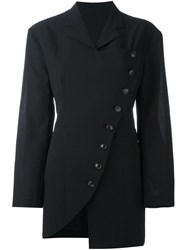 Y's By Yohji Yamamoto Vintage Double Breasted Jacket Black