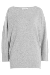 Max Mara Cashmere Dolman Sleeve Pullover Grey