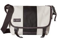 Timbuk2 Classic Messenger Bag Extra Small Heirloom White Black Messenger Bags