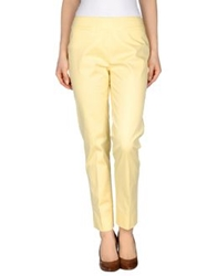 Kiltie Casual Pants Light Yellow