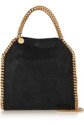 Stella Mccartney The Falabella Mini Faux Brushed Leather Shoulder Bag