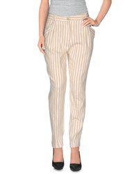 Momoni Momoni Trousers Casual Trousers Women Ivory
