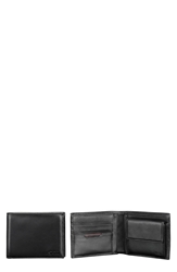 Tumi 'Delta Global' Leather Coin Wallet Black