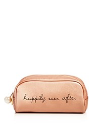 Deux Lux Happily Ever After Cosmetic Bag Compare At 35 Rose Gold