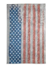 Roda Usa Flag Scarf Multicolor