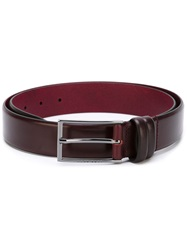 Boss Hugo Boss Buckle Belt Red