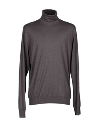 Kangra Cashmere Turtlenecks Grey