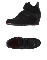 Pas De Rouge High Tops And Trainers Black