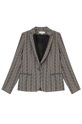 Paul And Joe Feather Print Blazer