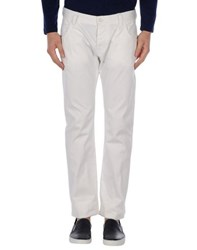 Armani Jeans Trousers Casual Trousers Men White