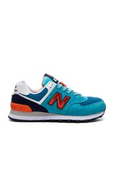 New Balance 574 Summit Sneaker Turquoise