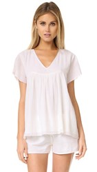 Surf Bazaar Flirt Shirt White