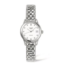 Longines Flagship Diamond Watch Unisex White