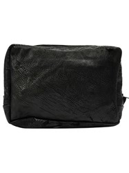 The Last Conspiracy Large Zipped Wash Bag Black