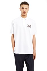 J.W.Anderson New Logo Polo Shirt White