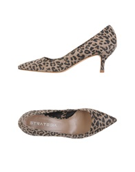 Strategia Pumps Khaki