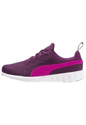 Puma Carson Cushioned Running Shoes Magenta Purple Pink Glow