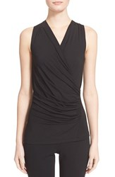 Women's Donna Karan New York Sleeveless Draped Jersey Top