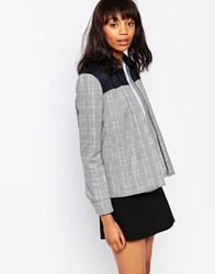 Wood Wood Nora Jacket Blackcheck